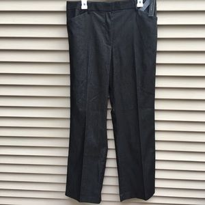 NWT Tahari black henna classic trousers career